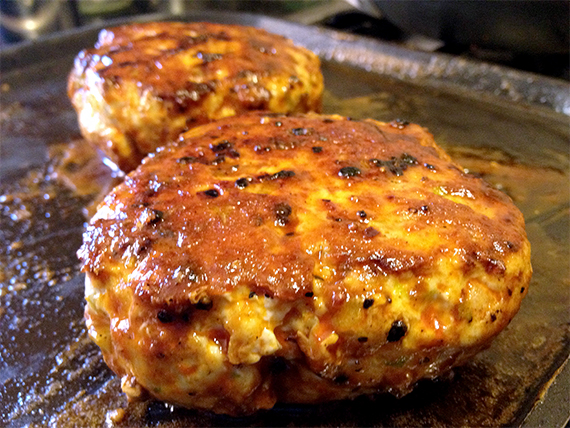Buffalo Turkey Burger Recipe