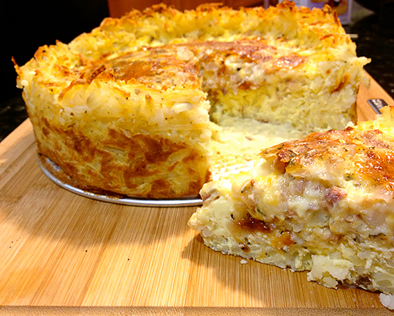 Sausage Quiche With Hash Brown Crust Recipes — Dishmaps