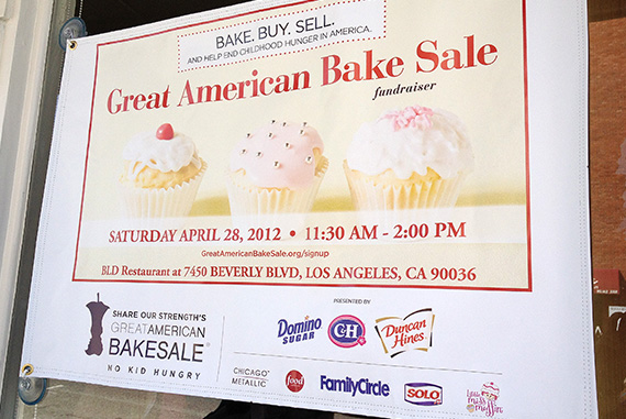 LA Food Bloggers Bake Sale!