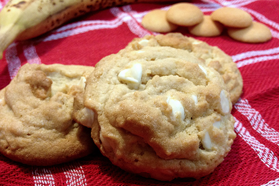 Banana Cream Pudding Cookies!