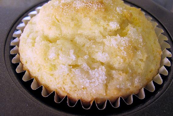 Giadas Lemon Ricotta Muffins