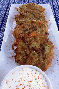 Zucchini and Potato Pancakes