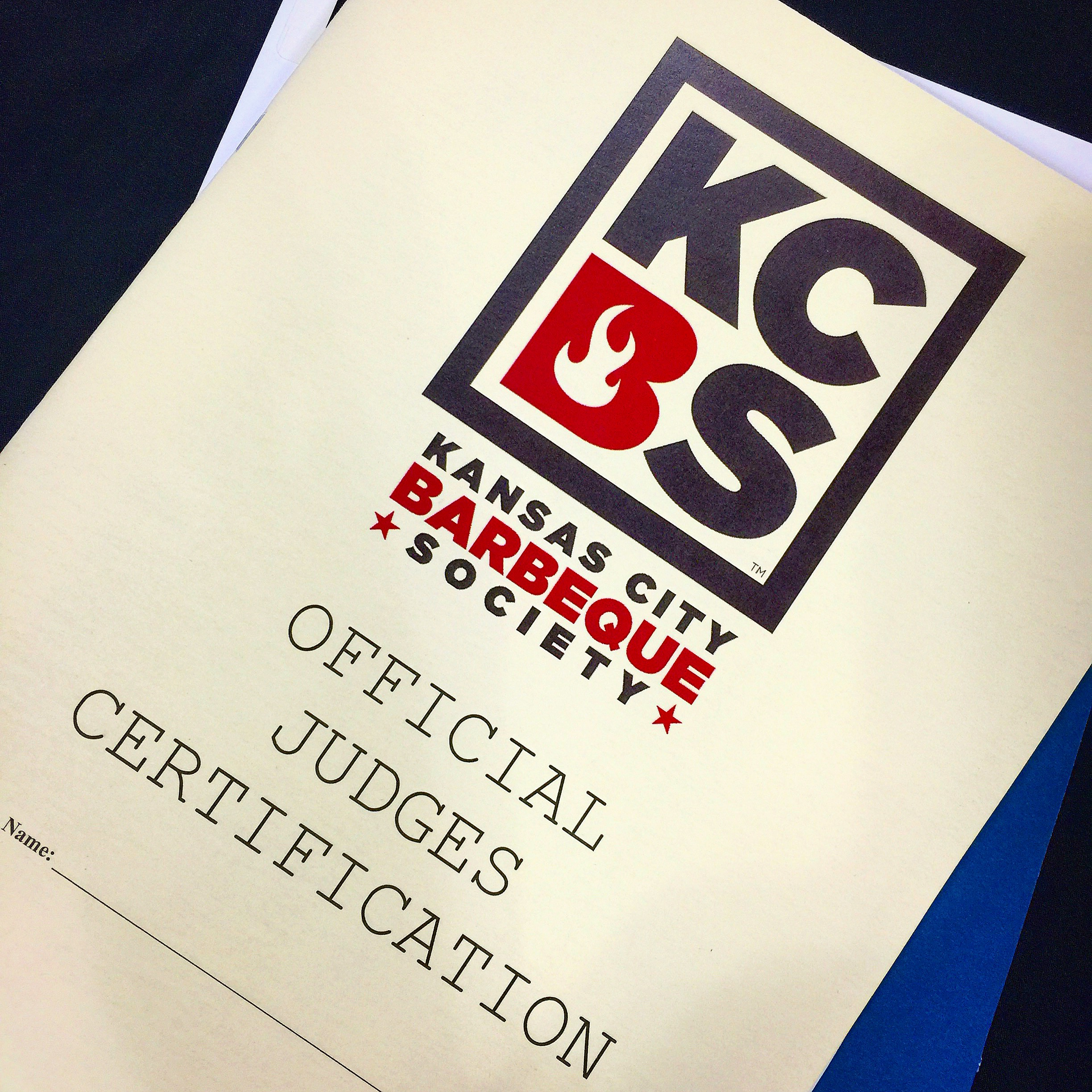 KC BBQ certification