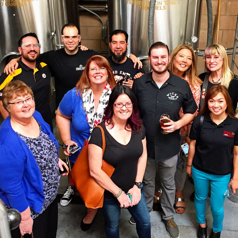 IEFB Brewery Tour Happy Blogiversary My Imperfect Kitchen