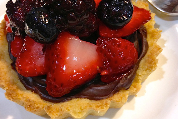 Berry Chocolate Ganache Tart