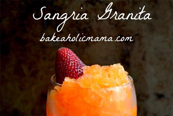 Sangria Granita ~ Bakeaholic Mama!