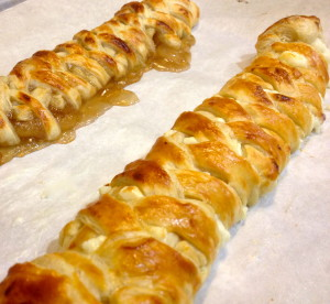 Long Braided Danishes