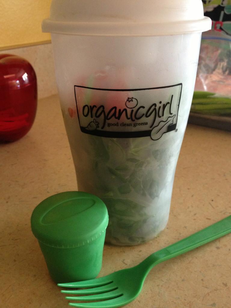 Organic Girl Salad Shaker