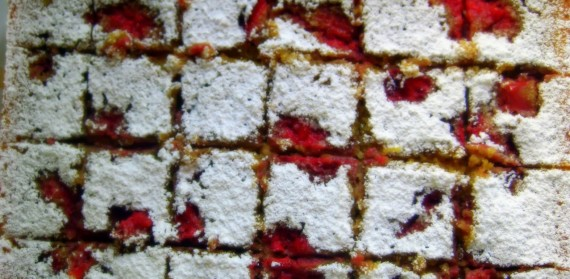 Strawberry Swirled Lemon Bars 2