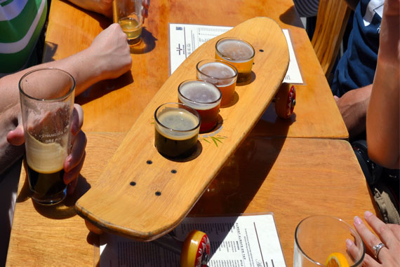 Ale House Beer Flight