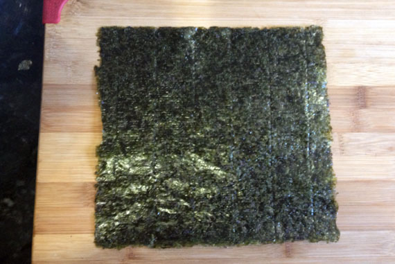 how to make nori wraps