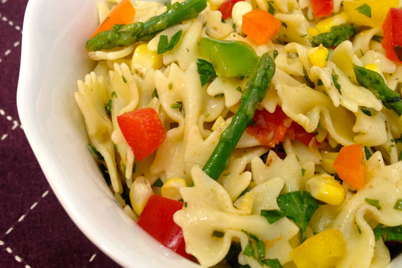 Summer Produce Pasta Salad