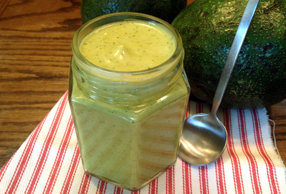 Spicy Avocado Dressing