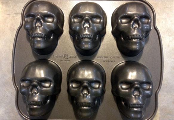 Meatloaf Skulls