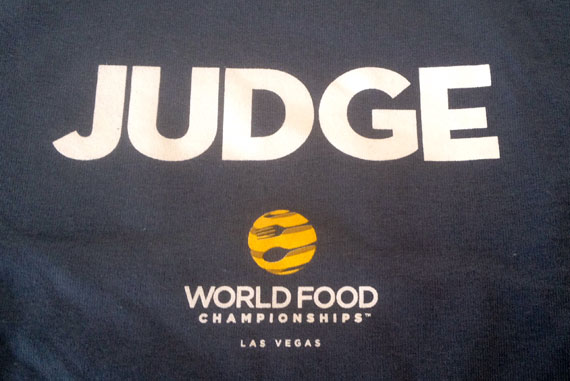 World Food Championship Judge T Shirt