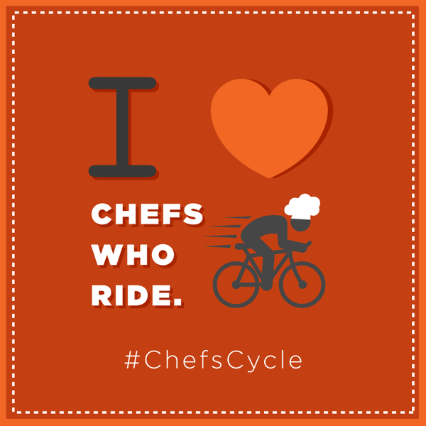Chefs Cycle For #TeamNKH