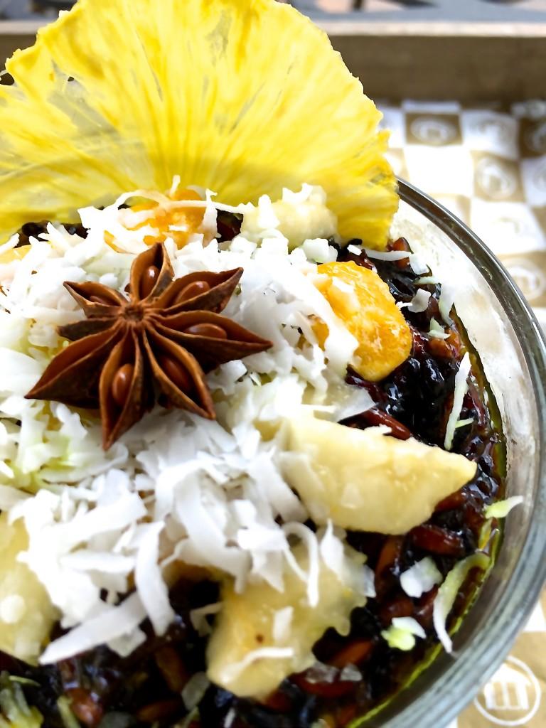 Golden Door Tropical Rice Pudding
