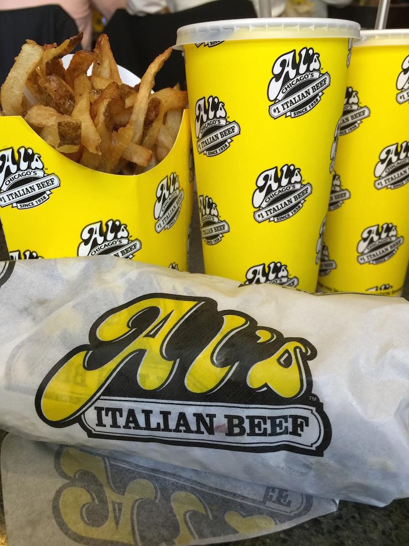 Al's Italian Beef Sandwich