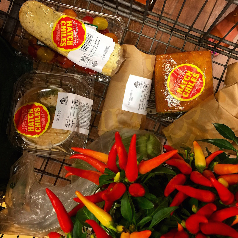 Hatch Chile Grocery Cart