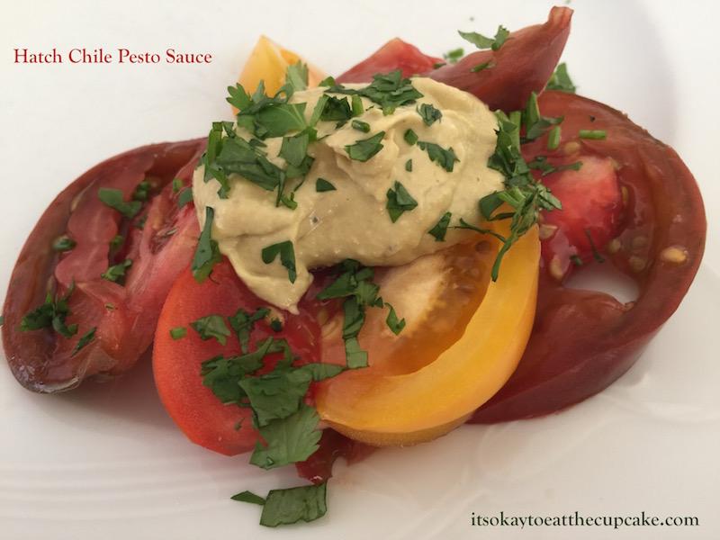 Hatch Chile Pesto Sauce