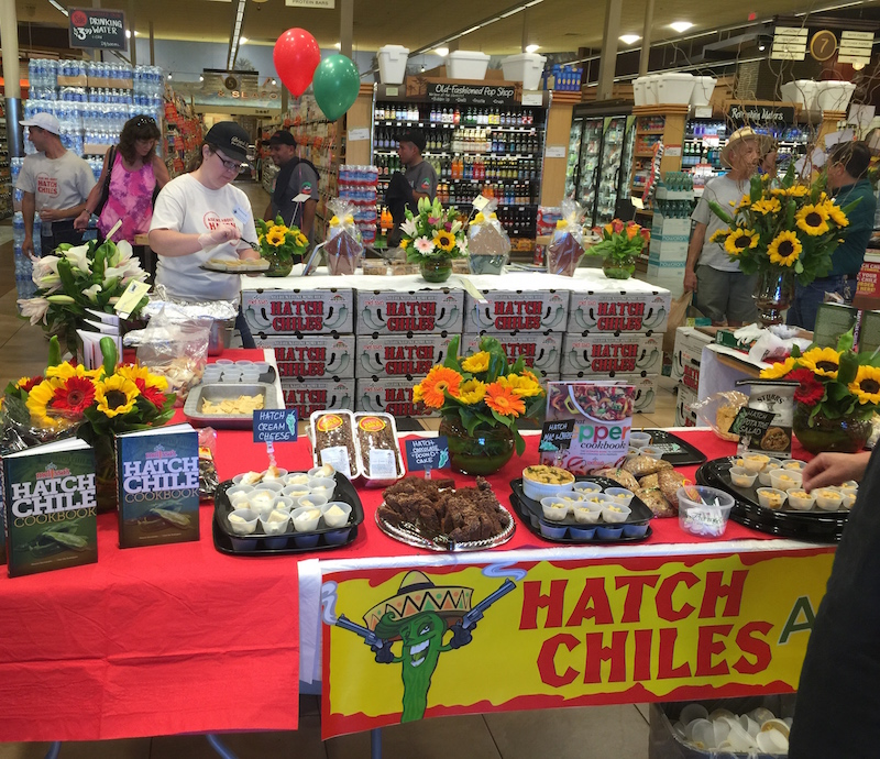 Hatch Chile Roasting Event at Bristol Farms