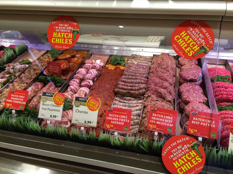 Hatch Chile Meat Department options