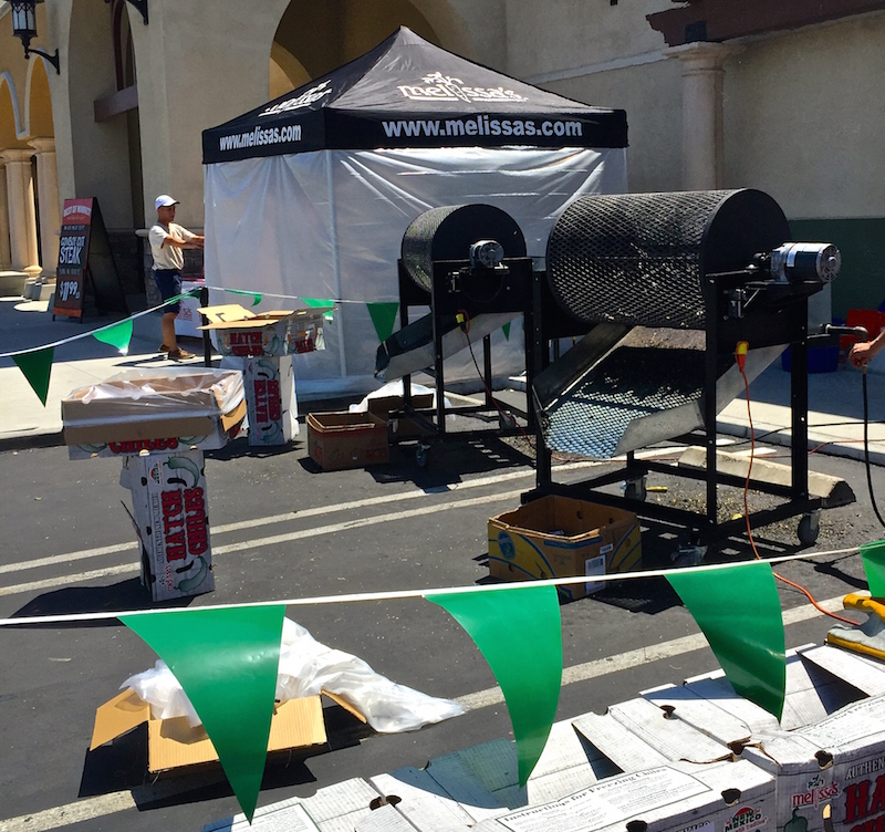 Hatch Chile Roasting Event at Bristol Farms Palm Dessert CA
