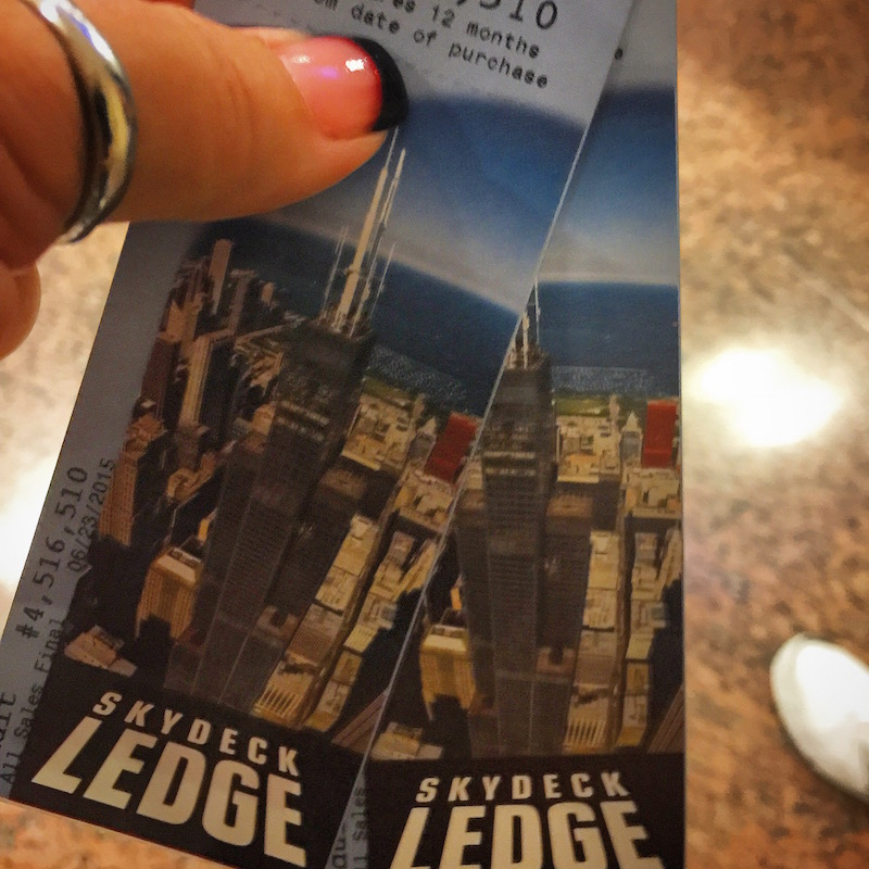 SkyDeck Ledge tickets