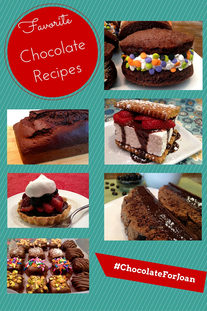 Chocolate Recipes For Joan