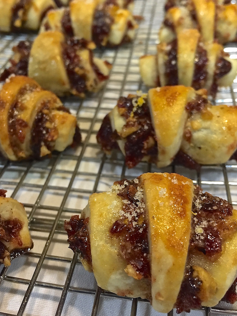 Cranberry Orange Rugelach Recipe — Dishmaps