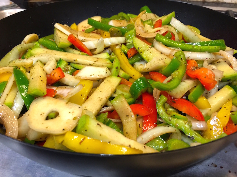 Melissa's Gift Baskets Veggies in Grilling Wok