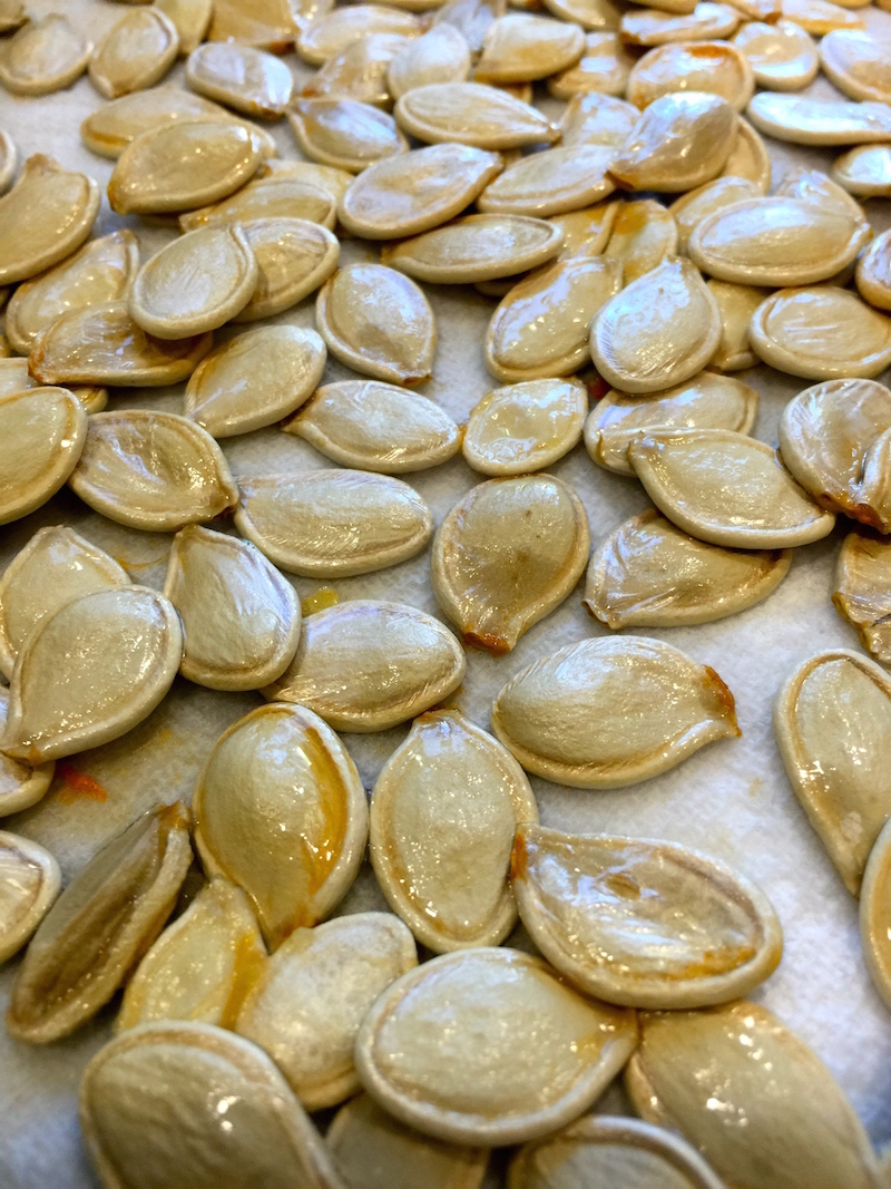 Washed Pumpkin Seeds