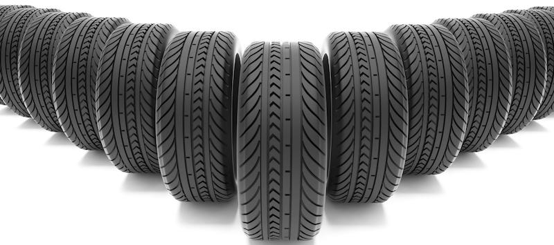 Weigh-In Wednesday Ten Car Tires