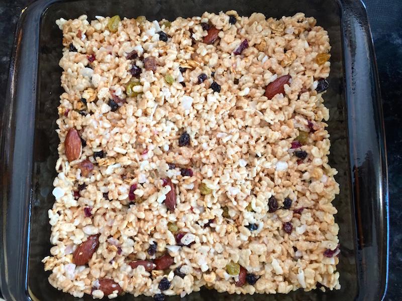 Granola Cereal Fruit Bars
