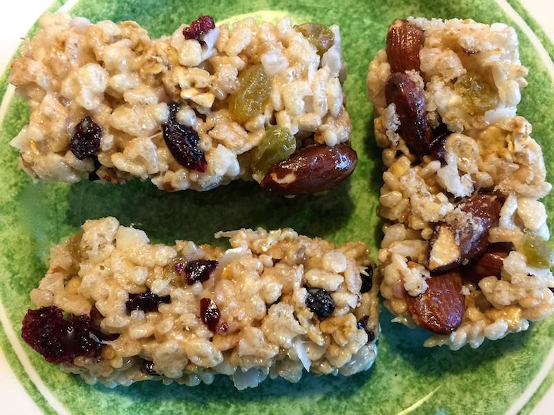 Granola Fruit Bars