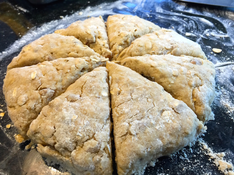 Honey Date Scones