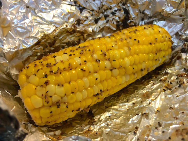 Grilled Corn with Herb Butter for #SundaySupper