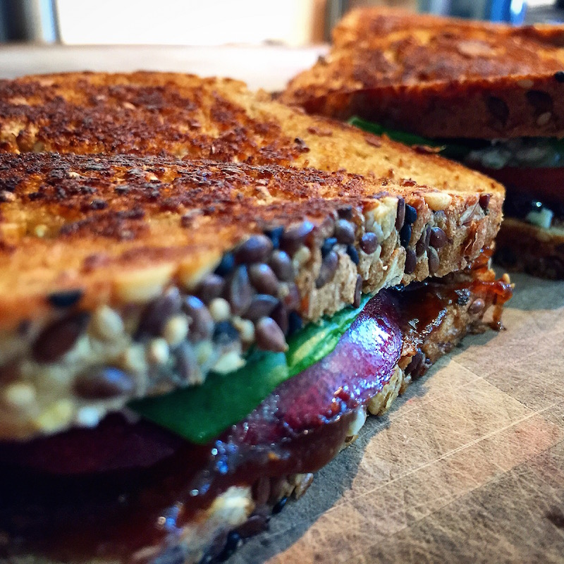 hope you try this Fig, Pear and Gorgonzola Grilled Cheese Sandwich ...