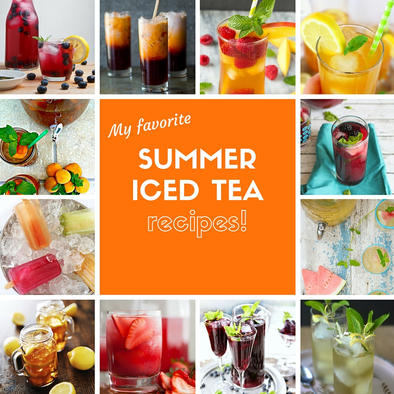 Summer Iced Tea Recipes