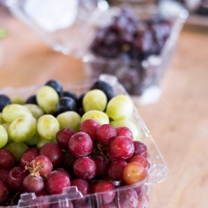 Grapes Were The Featured Item Of The Day!