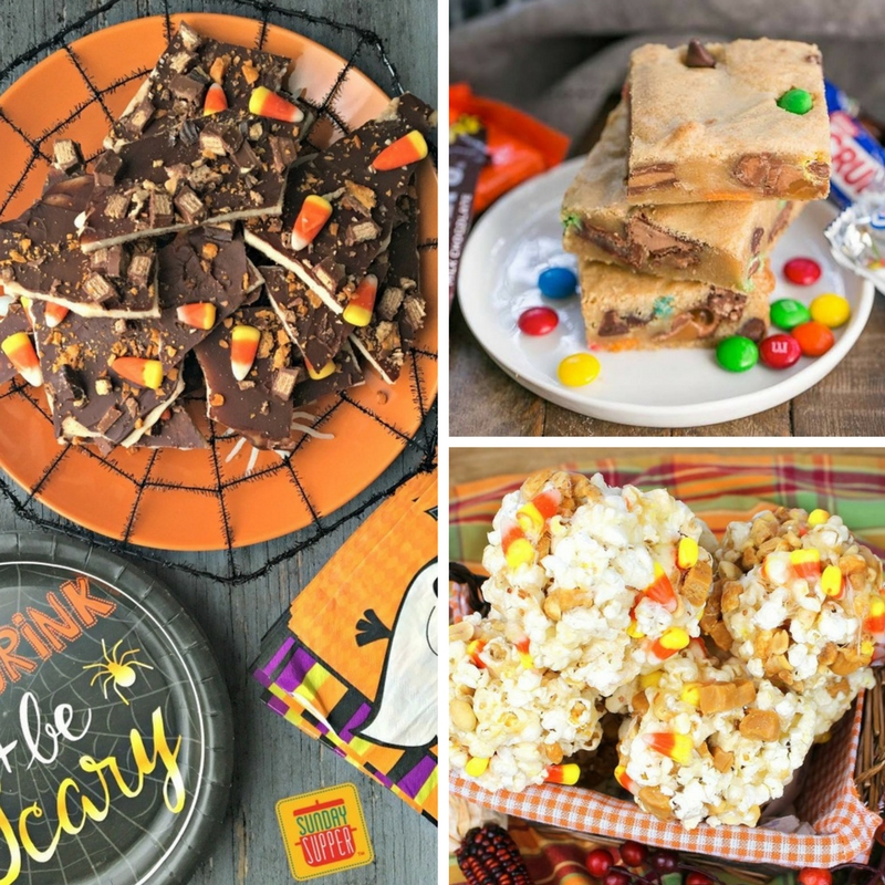 21 Recipes with leftover Halloween Candy!
