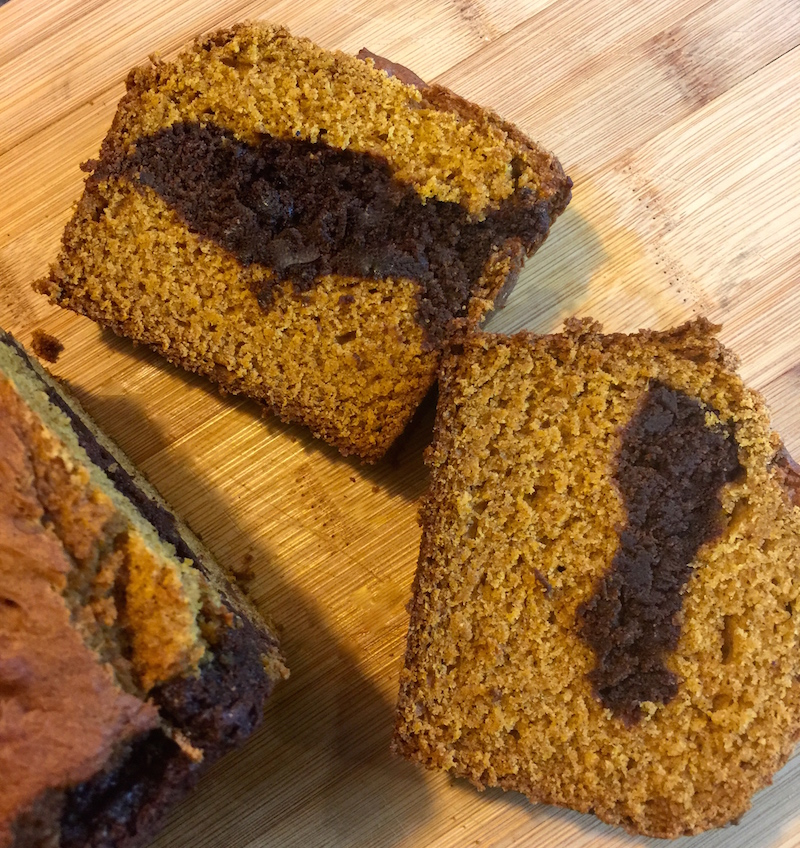 Pumpkin Chocolate Quick Bread