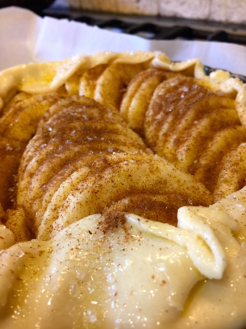 Simple Rustic Apple Tart