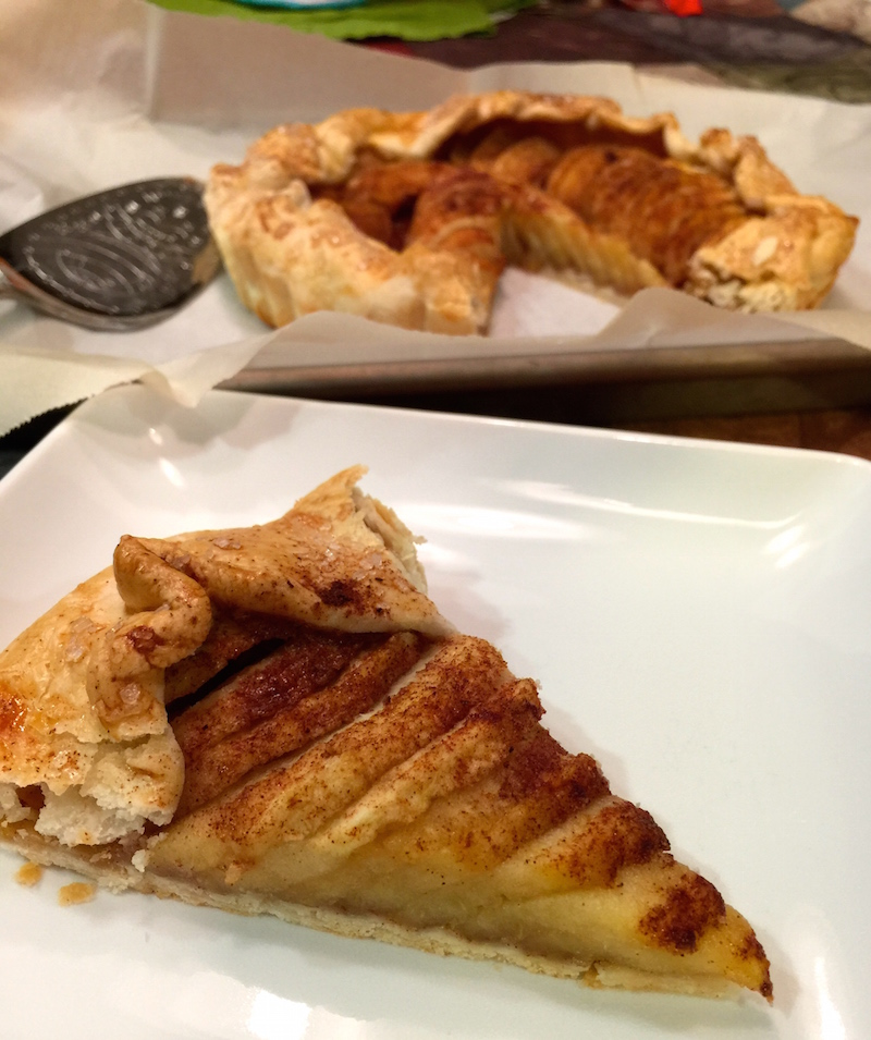 ... apple tart save print a quick and easy rustic apple tart for your
