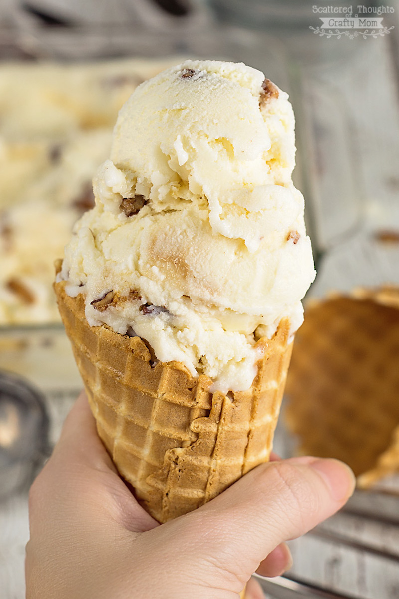 Top 12 pecan recipes for national pecan month my for Homemade butter pecan ice cream recipe