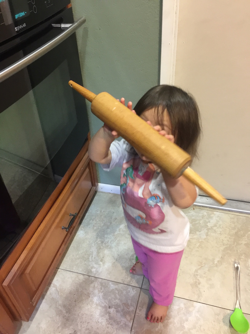 Mini Sous with Great Grandma's Rolling Pin