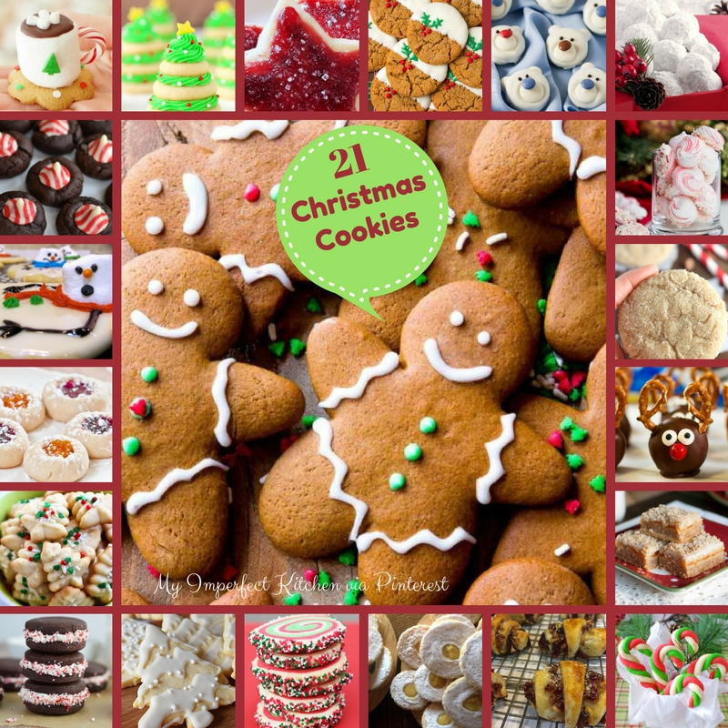 21 Christmas Cookies! A Delicious Roundup!