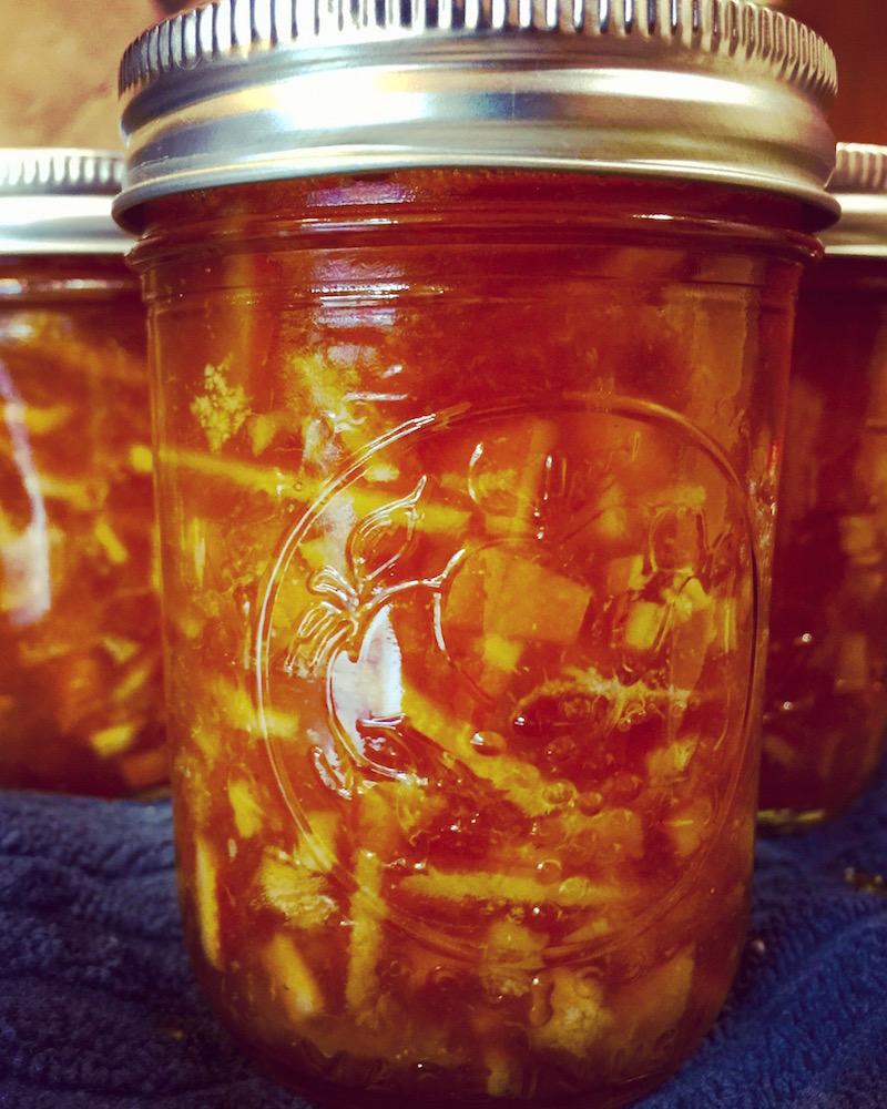 Small Batch Orange Marmalade