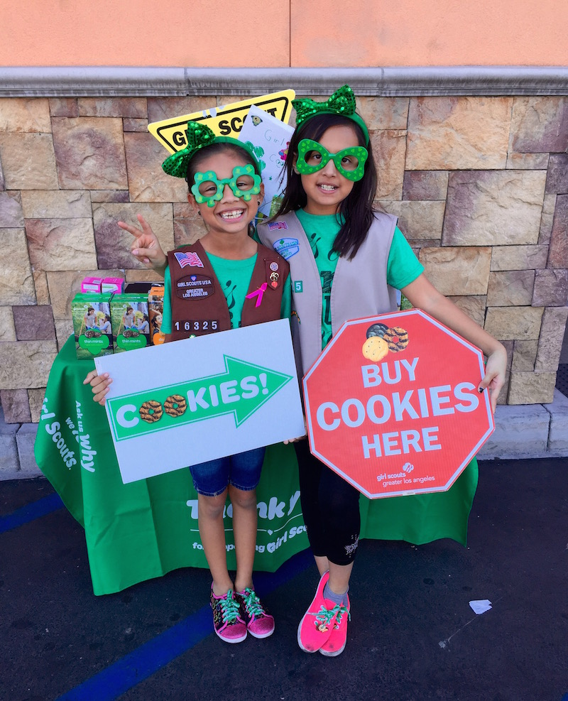 Girl Scout Cookies Sales