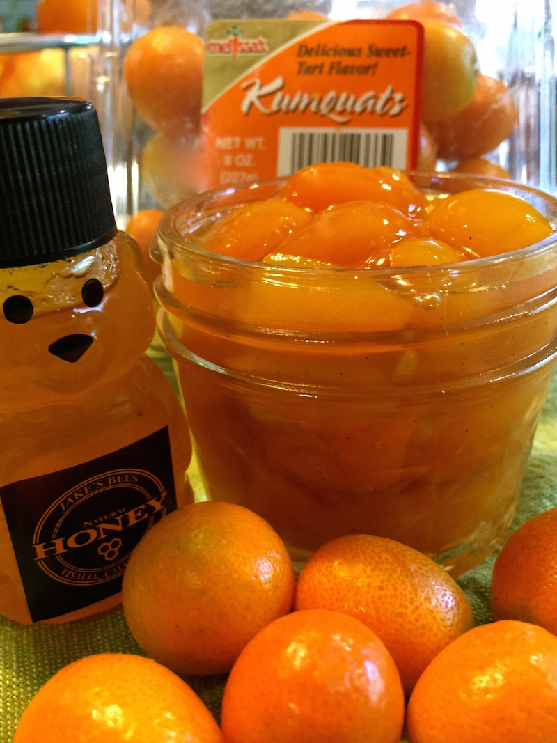 Kumquats in Honey Syrup